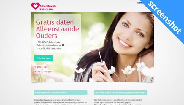 Alleenstaandeouders.com screenshot