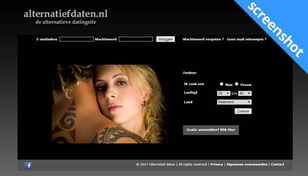 Alternatiefdaten.nl screenshot