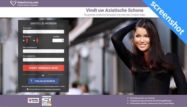AsianDating.com screenshot