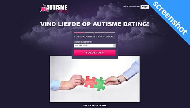 Autisme-Dating.nl screenshot