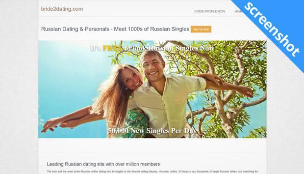 Bride2dating.com screenshot