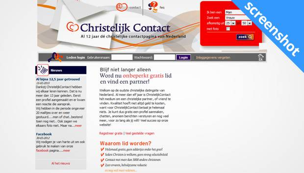 ChristelijkContact screenshot