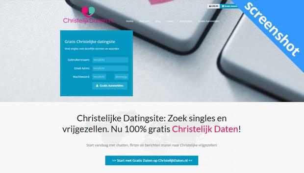 Christelijkdaten.nl screenshot