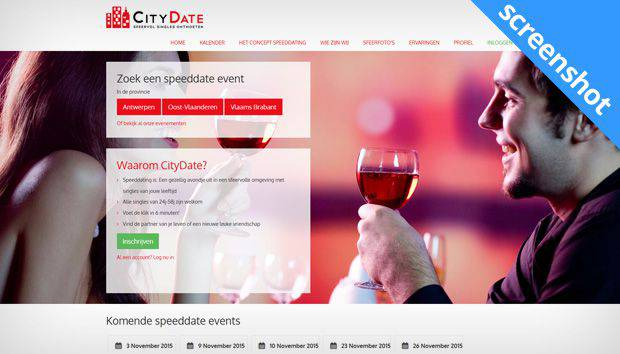 Citydate screenshot