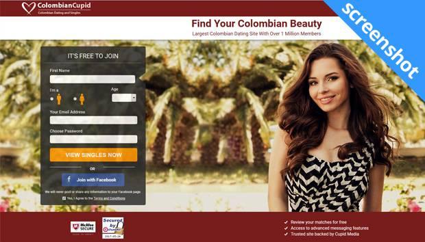 ColombianCupid screenshot