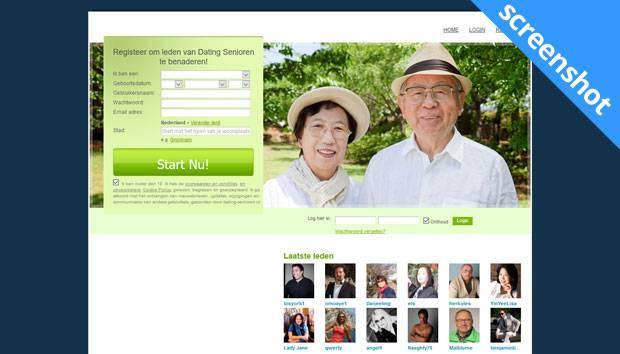 Dating-Senioren.nl screenshot