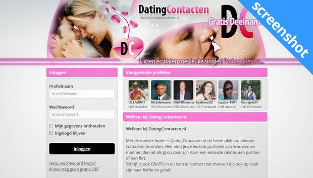 DatingContacten screenshot