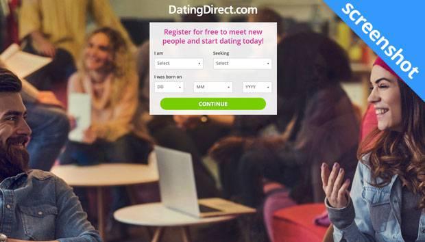 DatingDirect.com screenshot