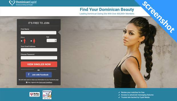DominicanCupid screenshot