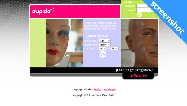 Dupido screenshot