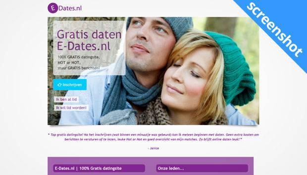 E-dates.nl screenshot
