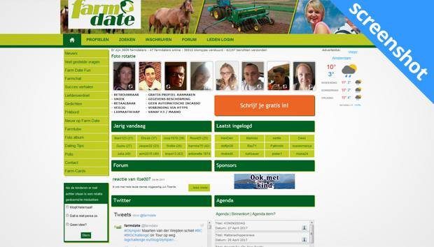 Farm Date screenshot