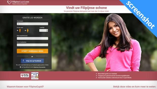 FilipinoCupid.com screenshot
