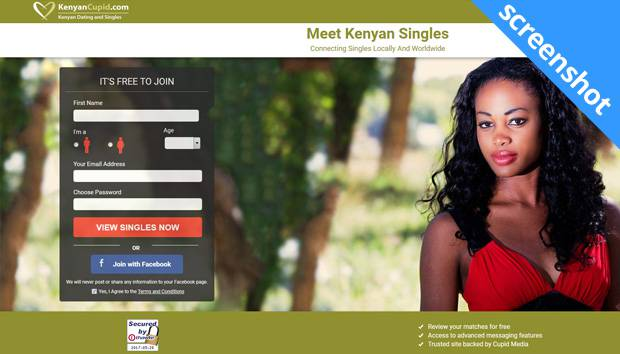 KenyanCupid.com screenshot