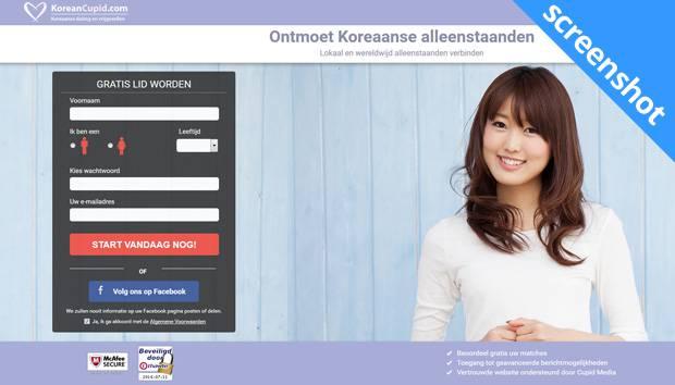KoreanCupid.com screenshot