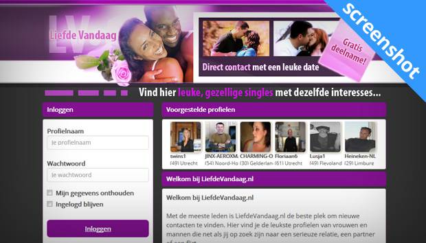 Liefde Vandaag screenshot