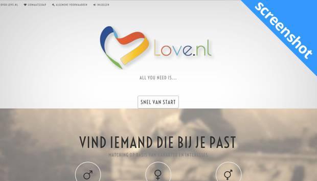 Love.nl screenshot