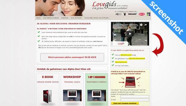 Lovegids screenshot