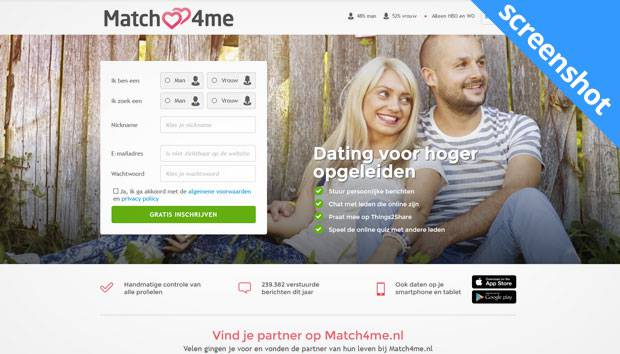 Match4me screenshot