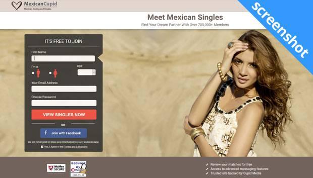 MexicanCupid screenshot