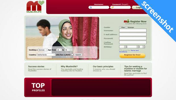 MuslimLife.eu screenshot