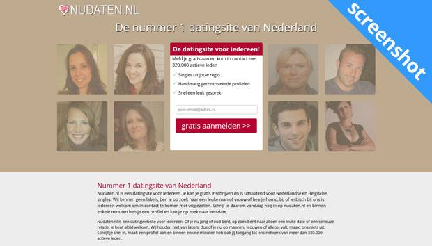 NuDaten.nl screenshot