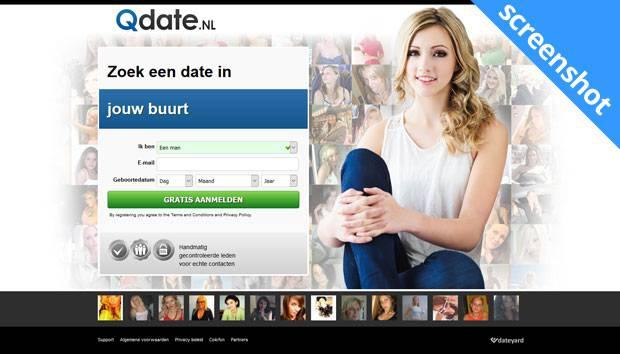 Qdate.nl screenshot