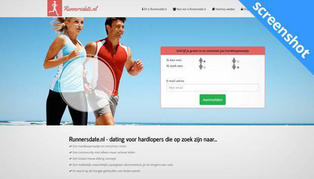 Runnersdate.nl screenshot