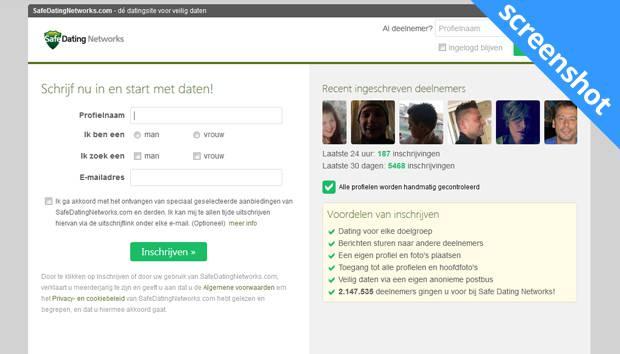 SafeDatingNetworks.com screenshot