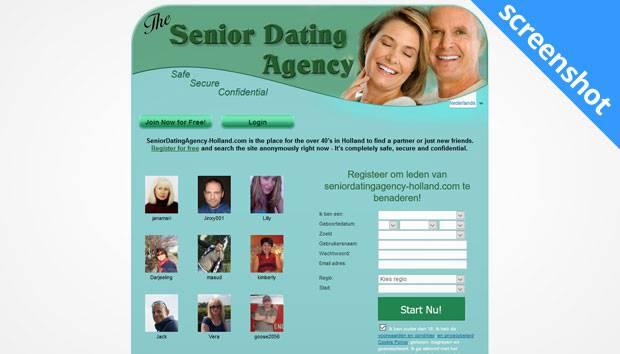 Senior Dating Agency screenshot
