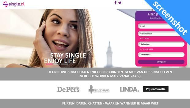 Single.nl screenshot