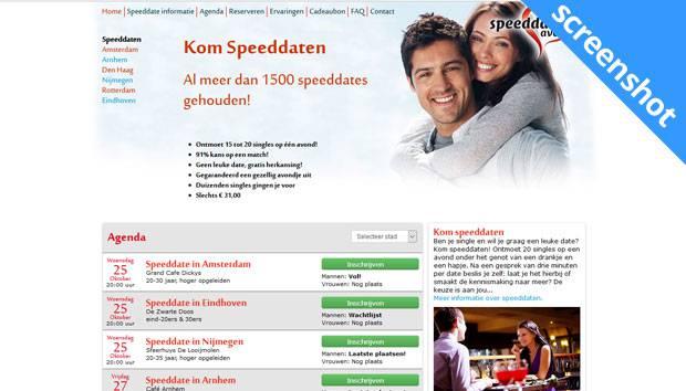 Speeddateavond.nl screenshot