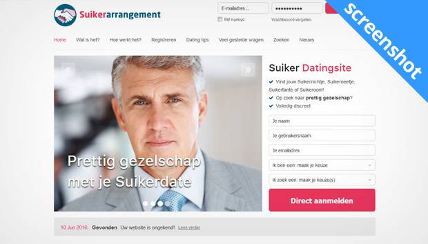 Suikerarrangement screenshot