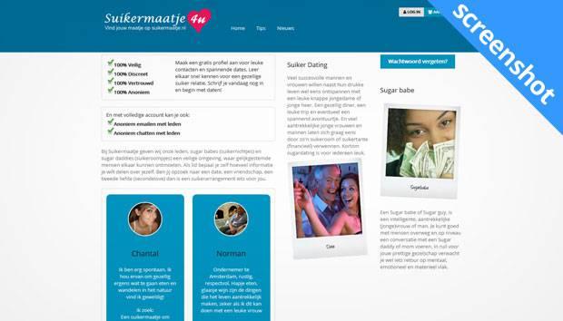 Suikermaatje.nl screenshot
