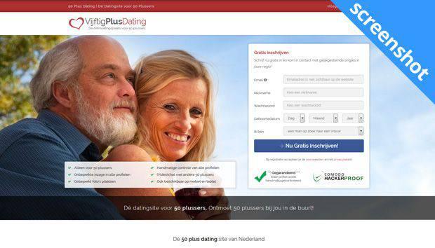 Vijftig Plus Dating screenshot
