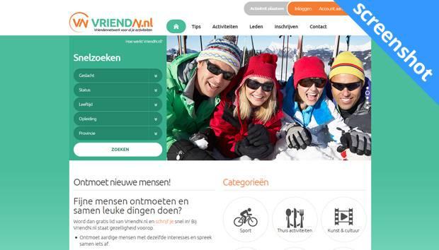 VriendN.nl screenshot
