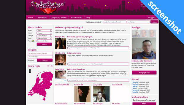 CitySexDating screenshot
