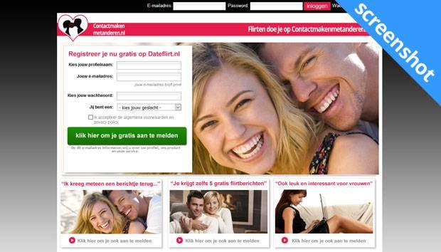 Contactmakenmetanderen.nl screenshot