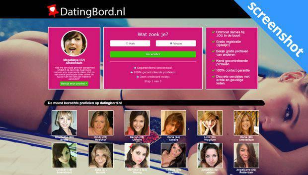 Datingbord screenshot