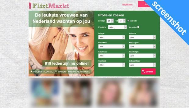 Flirtmarkt screenshot