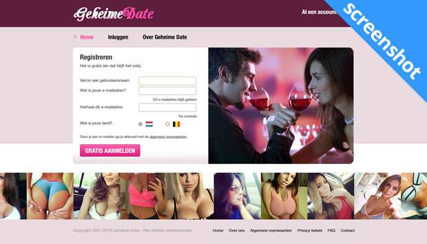 Geheime Date screenshot