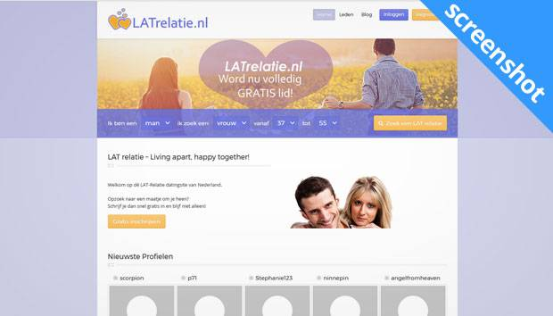 LATrelatie.nl screenshot