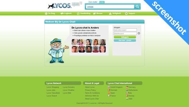 Lycos Chat screenshot