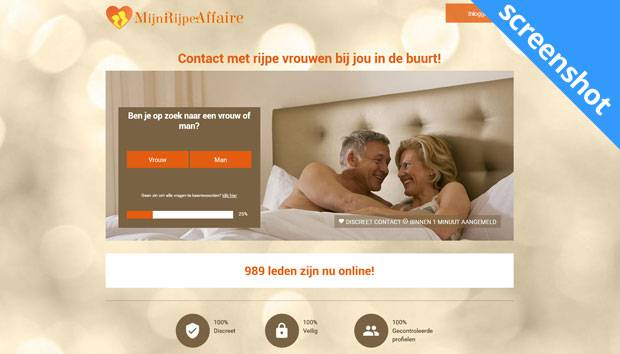 MijnRijpeAffaire screenshot