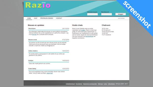 Razio screenshot
