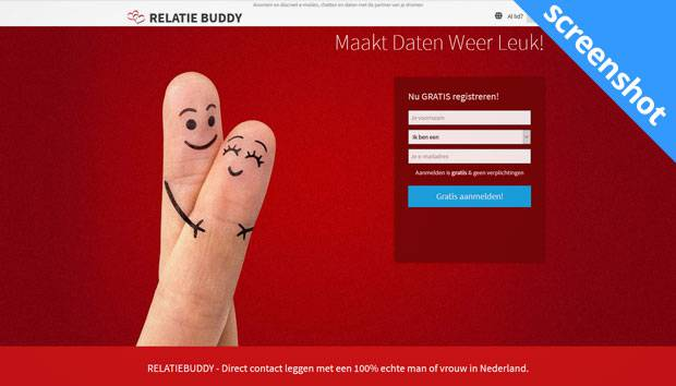 Relatie Buddy screenshot