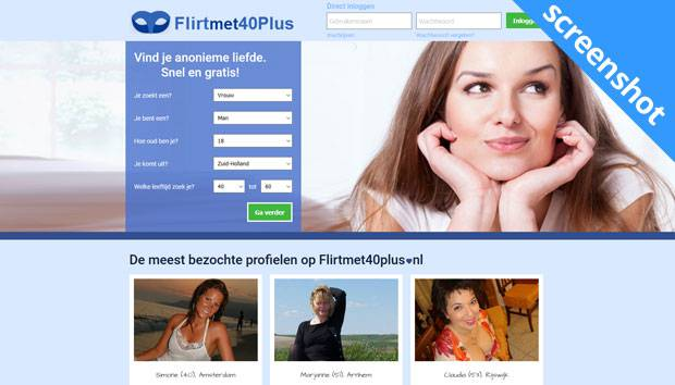 Flirtmet40Plus screenshot