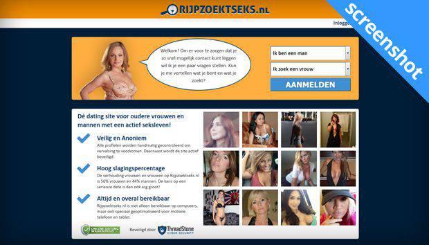 Rijpzoektseks.nl screenshot