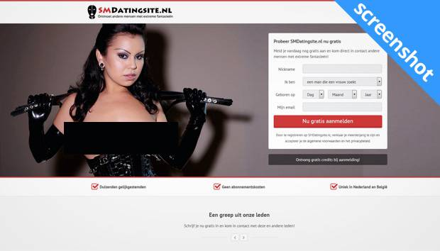 SMdatingsite.nl screenshot