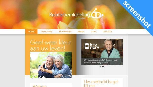 Relatiebemiddeling 60 Plus screenshot